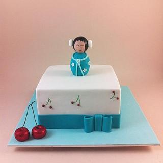 Japanese Geisha Cake - Cake by Lydia Evans