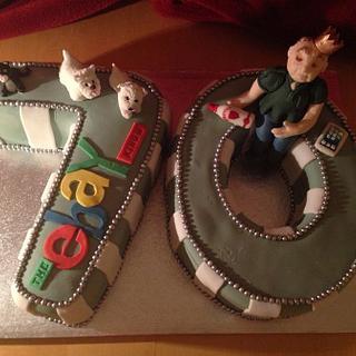 70th Ebay King cake