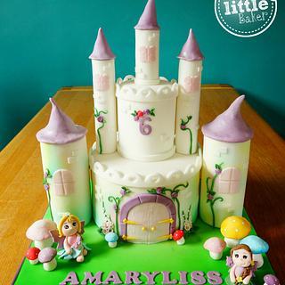 Fairy / Princess Castle Cake