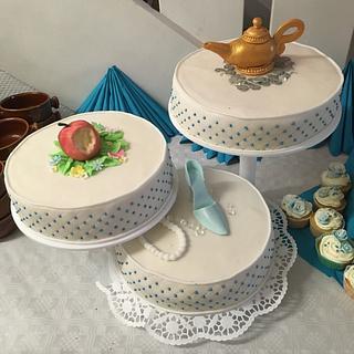 Disney wedding cake - Cake by KaetvanKirsch
