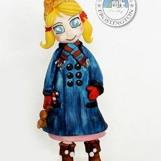 Frostington village child