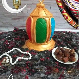 Fanous ramadan cake