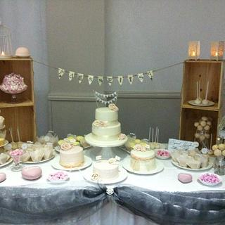 Another dessert wedding table