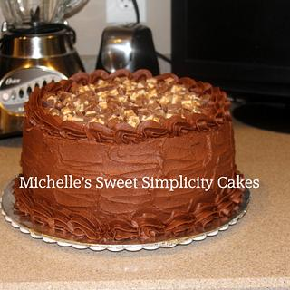 Chocolate Snickers Cakes - Cake by Michelle