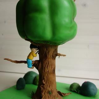 Mary's tree - Cake by Susana Ugarte