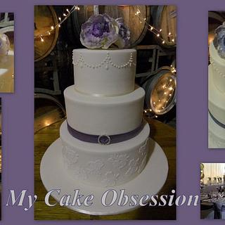 Chelsie's Wedding Cake