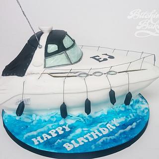 EJ's boat
