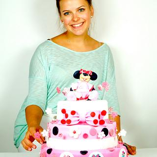 Minnie Mouse Cake by Judith Walli, Judith und die Torten
