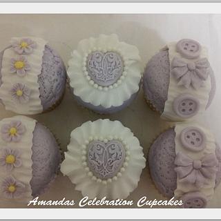 Vintage Fashion cupcakes