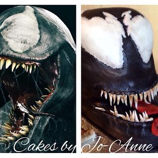 Venom - Cake by Cakes by Jo-Anne
