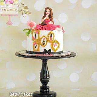 Girly Makeup haul Cake