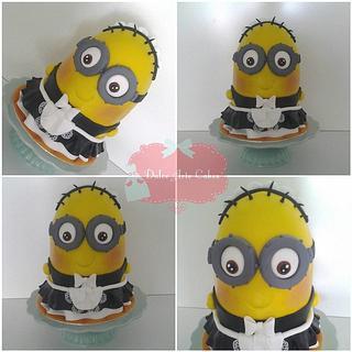 Minion cake hecha por Dulce Arte Cakes