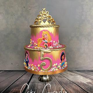 Princesscake  - Cake by Cake Garden