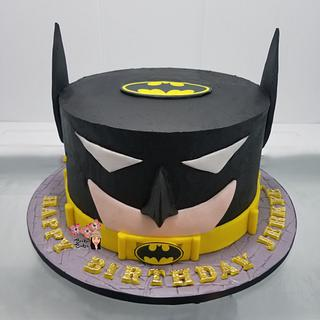 Batman Buttercream Cake