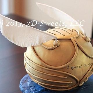 Golden Snitch - Cake by 3DSweets
