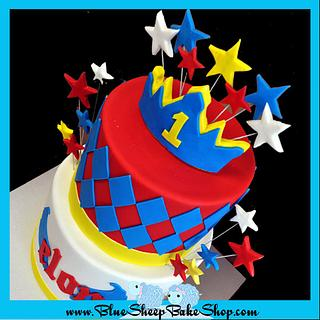 Rockstar Price Birthday Cake