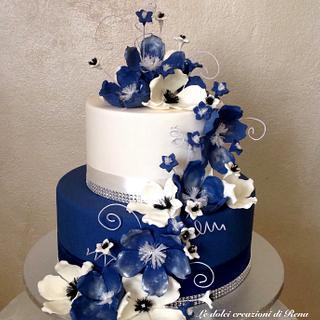 Flowers cake - Cake by Le dolci creazioni di Rena