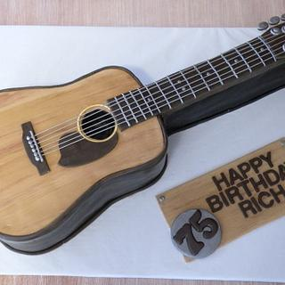 acoustic guitar - Cake by Dani Johnson