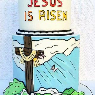 Jesus Is Risen (coloring book collab)