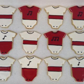 Baby Shower Sugar Cookie Favors