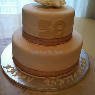 Anniversary Cake - Cake by Michelle Allen