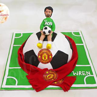A football Cake! - Cake by Félicitations