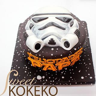 Star Wars Trooper Cake