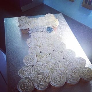 cupcake wedding dress
