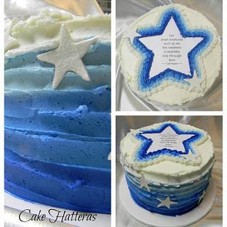 Carl Sagan Wedding Cake