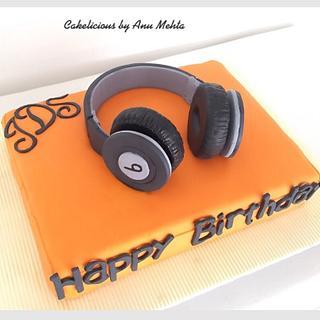 Beats Headphones cake
