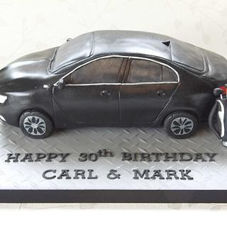 Vauxhall Insignia - Cake by The Cake Lady (Tracy)
