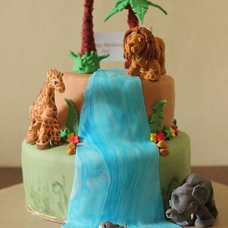 Jungle Cake - Cake by Smita Maitra (New Delhi Cake Company)