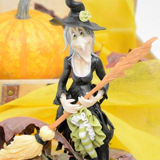Halloween Witch Cake Topper
