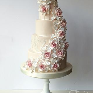 Anita's wedding cake