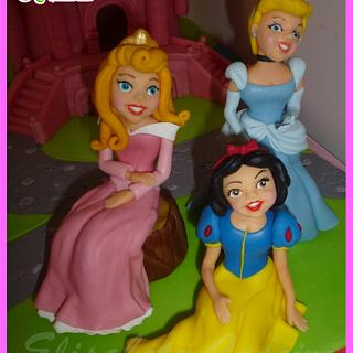 Disney Princesses Castle
