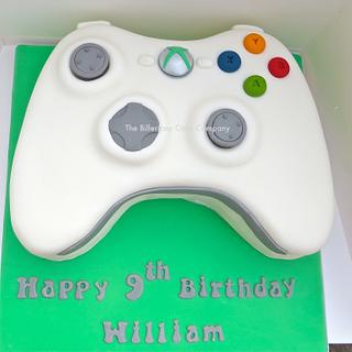 Xbox controller cake - Cake by The Billericay Cake Company