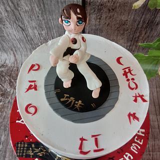 Kungfu cakes.   - Cake by CakeCrush