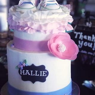 Hello, Halle! - Cake by TrudyCakes