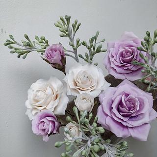 Sugar bouquet