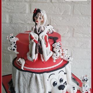 "Cruella De Vil: ""I want spots on my fur!"""
