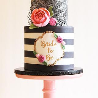 Flirty Little Bridal Cake