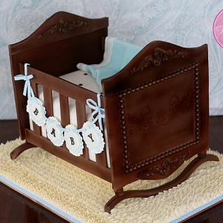 Antique Cradle Cake