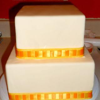 ENGAGEMENT CAKE - Cake by Linda