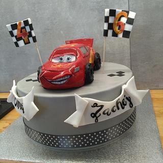 McQueen birthday cake - Cake by TinkaCakes