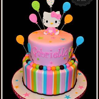 Hello Kitty! - Cake by YummyTreatsbyYane