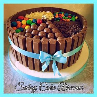 Chocolate Candy cake  - Cake by Sabsy Cake Dreams
