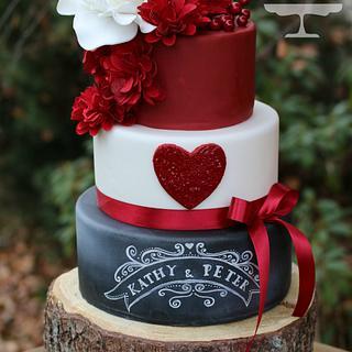 wedding cake :