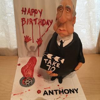 Alf Hitchcock -Psycho Birthday Cake!