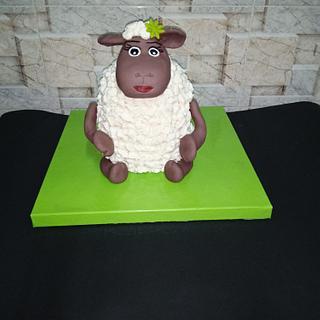 Sheep cake - Cake by Nodycakes