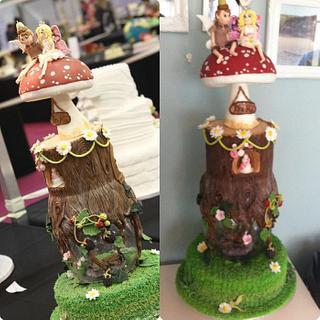 Fairy wedding, wedding cake  - Cake by Nicky Gunn